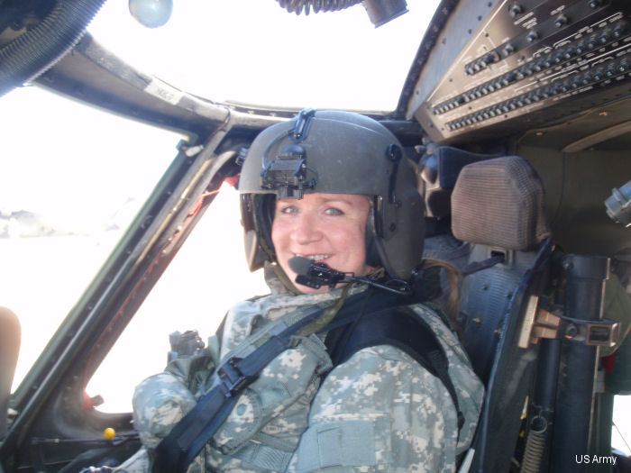 Maj Michele P Harper is the only female Black Hawk Helicopter pilot in the North Carolina Army National Guard.