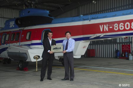Vietnam s Southern Service Flight Company logs 10,000 flight hours with one of its Eurocopter AS332 Super Puma helicopters