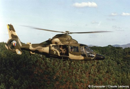 Helibras will upgrade 34 Eurocopter helicopters for the Brazilian Army
