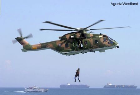 Portuguese Air Force AW101 Fleet Achieves 10,000 Flying Hours