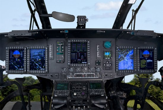 Upgraded glass cockpit CH-53E makes first flight