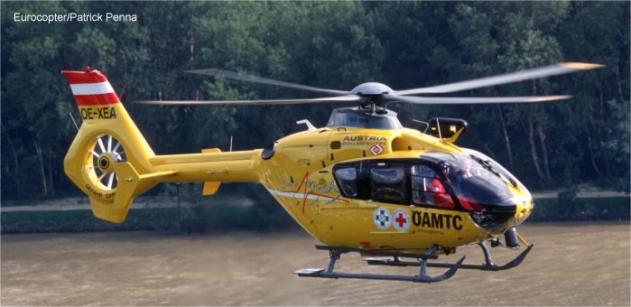 ÖAMTC achieves 100,000 flight hours with its EC135 fleet