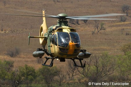 Eurocopter & ATE Begin Firing Tests on Weapons System for Light Helicopters