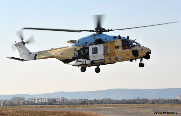 Eurocopter conducted the first flight of Spain s NH90 TTH at Marignane on December 17, 2010