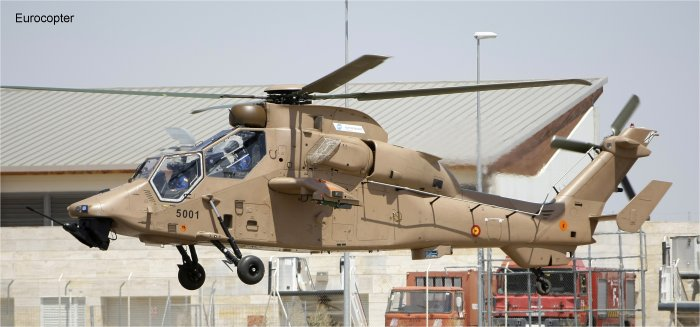 Flight tests begin for Eurocopter Tiger HAD support and attack helicopter in Spain