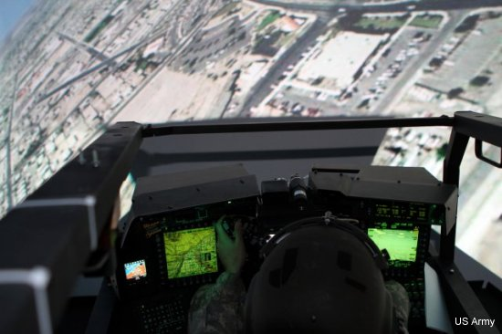 Pilots train on new AH-64D Apache helicopter
