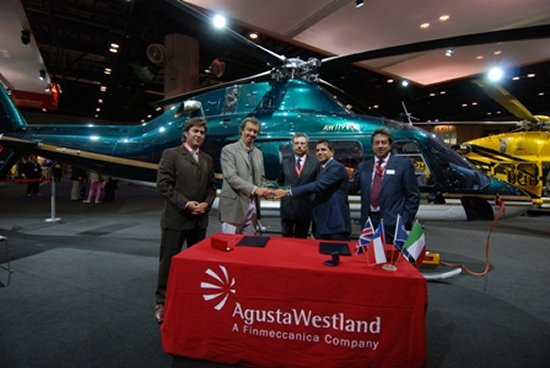 Firefly S.p.A of Chile Takes Delivery of an AW119Ke Helicopter
