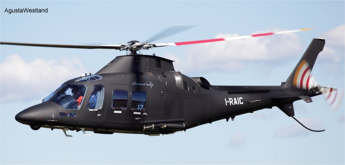 Public Security Bureau of Ordos Orders Two AgustaWestland GrandNew Helicopters