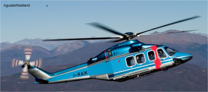 Japan National Police Agency Orders Three AW139 Helicopters