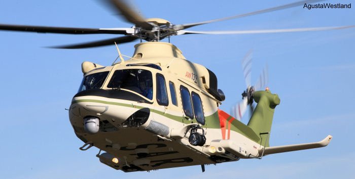 Two AW139 for SAR missions via FMS to the Egyptian Air Force
