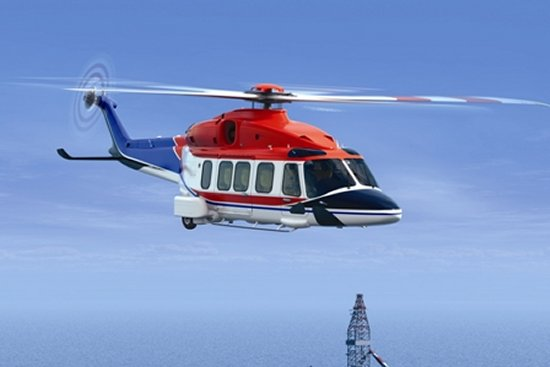 AgustaWestland Unveils The AW189 Helicopter