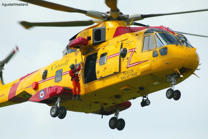 """Most Challenging"" Mountainside Helicopter Rescue wins the 2011 Cormorant Trophy"