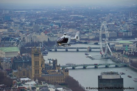 Capital Air Services, UK VIP operator, fleet that also includes Eurocopter EC155B1, EC135 and AS355 received a new 