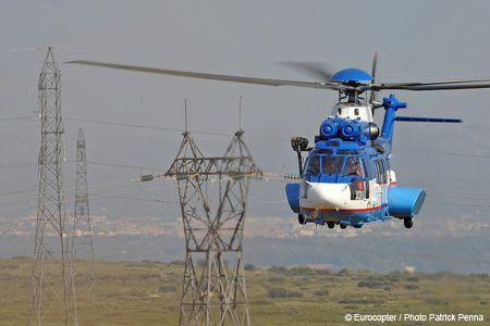 RTE announces the creation of AIRTELIS and selects Eurocopter EC225 for new maintenance and support techniques on electrical power lines