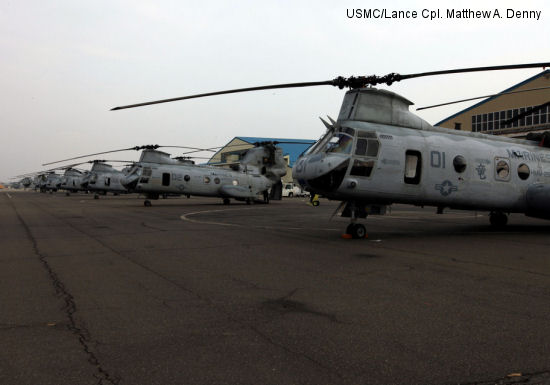 HMM-265 support relief efforts, Operation Tomodachi