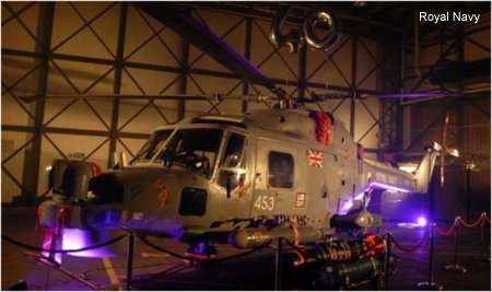 Hangar party at Yeovilton to celebrate 40 years of the Lynx