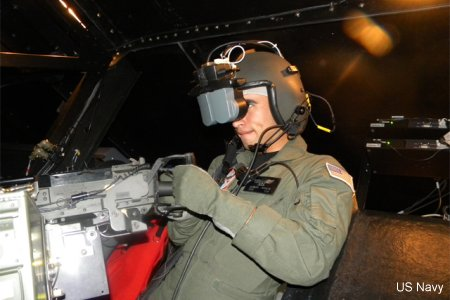 First MH-60S aircrew virtual environmental trainer ready for training