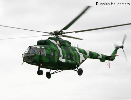 MI-171SH Deliveries to Peru Defence Ministry Completed