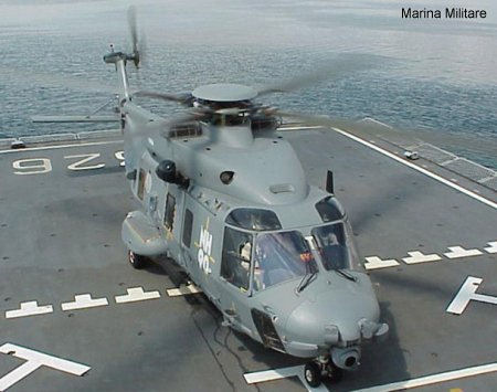 Italian Navy has taken delivery of its first NH90 NFH helicopter