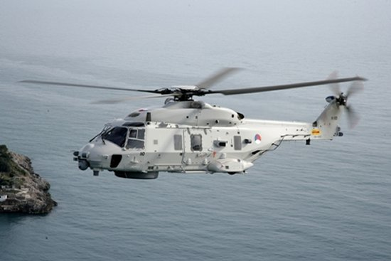 The Royal Netherlands Navy Takes Delivery of a Mission Planning & Analysis System for its NH90 NFH Helicopters