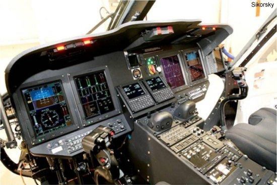 The Thales TopDeck avionics suite to be installed in Sikorsky s new S-76D helicopter