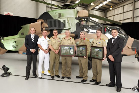Australian Aerospace from Brisbane delivered the last of 22 Tiger attack helicopters to the Army Aviation