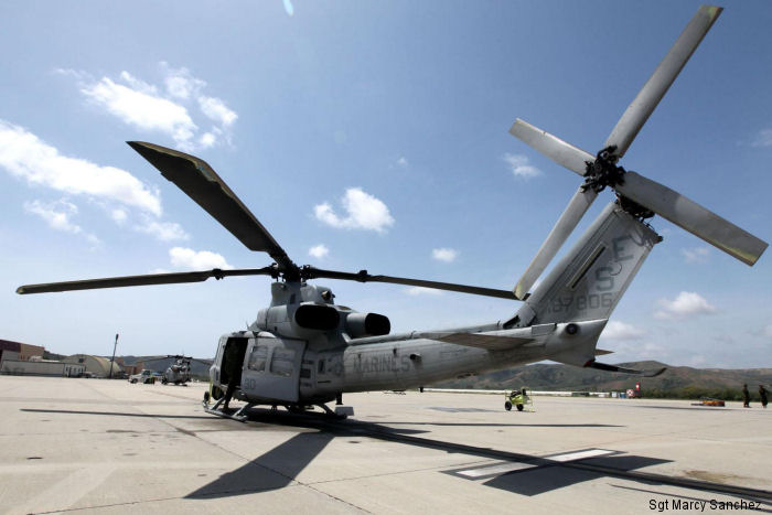 HMLA-469 is the last squadron aboard Camp Pendleton, CA to transition to the UH-1Y helicopter as part of the Marine Corps H-1 upgrade program