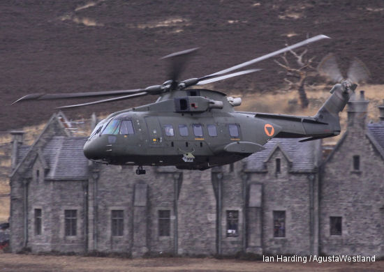 AgustaWestland's Helicopters Star in Skyfall