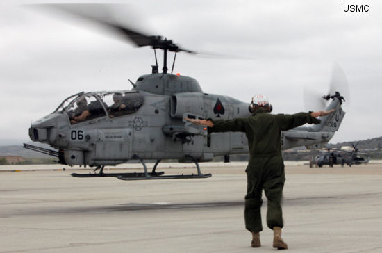 HMLA-267 conducts their final flight of the Whiskey