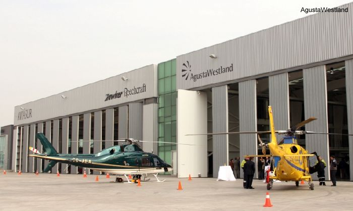 AVIASUR Opens New AgustaWestland Service Centre in Santiago, Chile