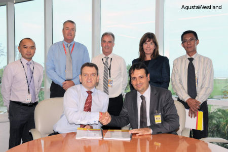 Brunei Shell Petroleum Orders Two AW139 Helicopters