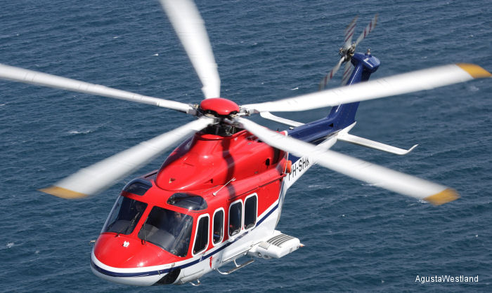CHC Helicopter Signs Contract for Ten AW139s