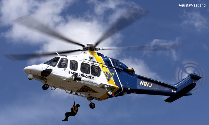 New Jersey State Police Completes Fleet Renewal Program with Latest AW139 Acceptance