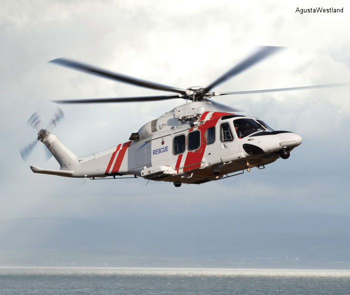 The Swedish Maritime Administration ( Sjöfartsverket ) orders 7 AW139 for search and rescue