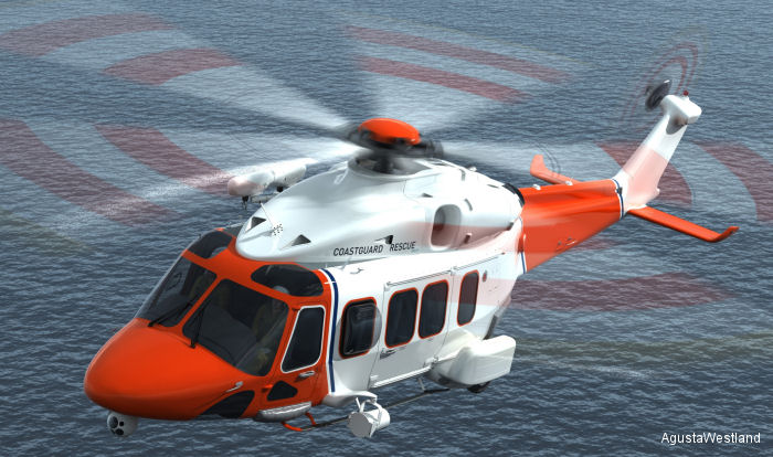 AgustaWestland Exhibits AW189 SAR at FIA 2012