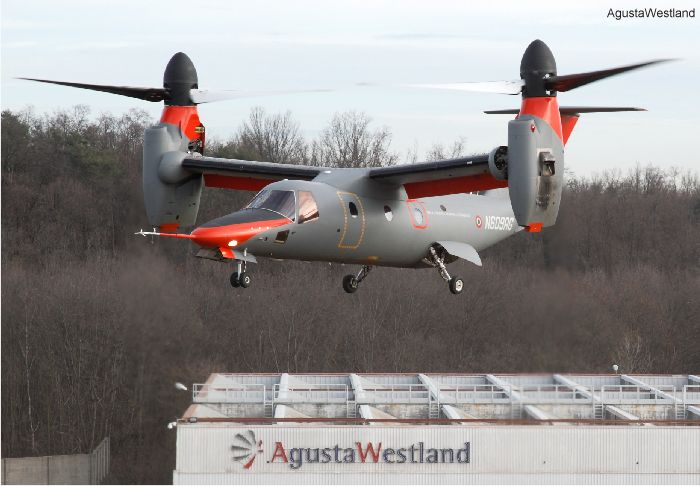 AW609 Tiltrotor Programme Update