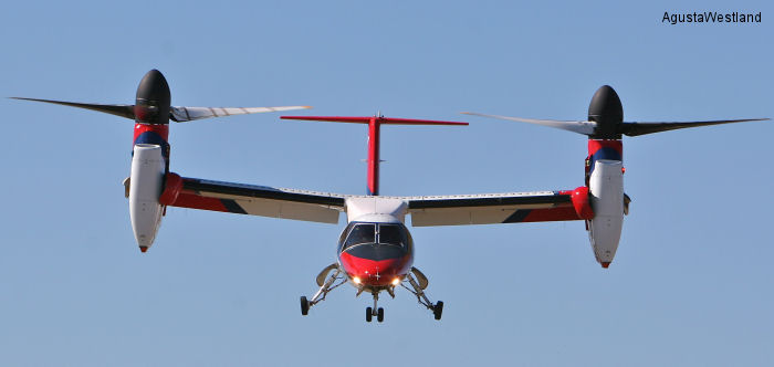 AgustaWestland Signs Key Supplier Agreements For The AW609 TiltRotor Programme
