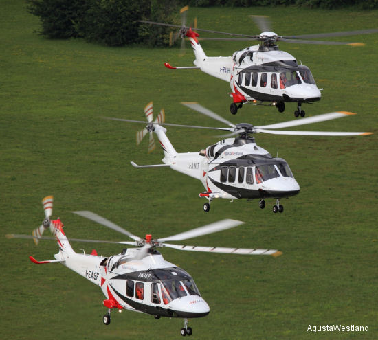 AgustaWestland Family of New Generation Helicopters Makes Its Public Premiere at FIA 2012