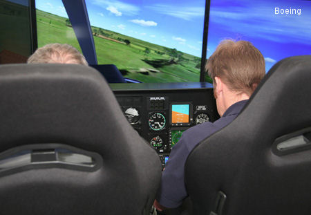 Boeing Establishes Simulator-based Training for Kiowa Flight Instructors