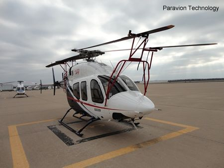 Paravion Technology Inc blade-fold kit for Bell 429