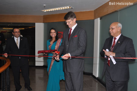 Bell Helicopter Opens New Facility in India