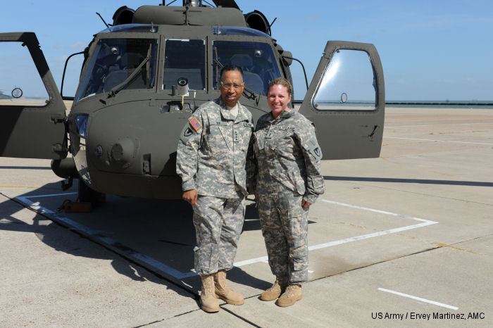 Corpus Christi Army Depot welcomes its first female test pilot