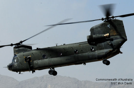 Chinook helicopters return to operations in Afghanistan