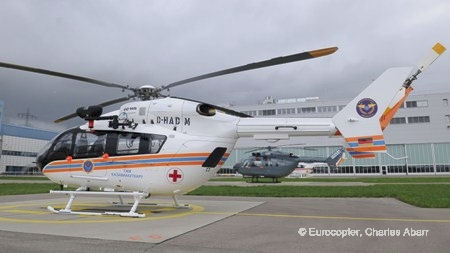 Kazakhstan orders eight more Eurocopter EC145s in a government framework agreement for 45 of the twin-engine helicopters