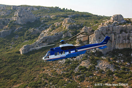 Eurocopter delivers its second EC225 helicopter to the AIRTELIS affiliate of France's RTE public utility company