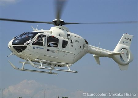 Eurocopter mission-capable helicopters take center stage at the Japan Aerospace 2012 exhibition