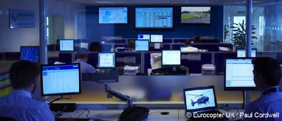 Supporting airborne security for the Olympic Games: Eurocopter UK Maintenance Mission Control Center is ready for the task