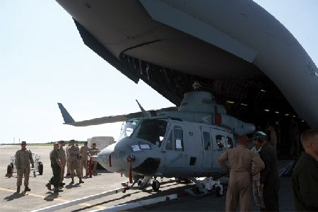 Marine Medium Helicopter Squadron 262 receives new Venoms