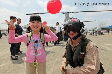 HMM 265 Dragons return to Atsugi, one year after Operation Tomodachi