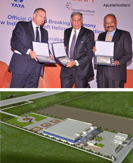 Indian Rotorcraft Holds Ground Breaking Ceremony For New Helicopter Production Facility in Hyderabad